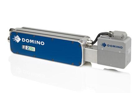 F220i Faserlaserdrucker von Domino laser head