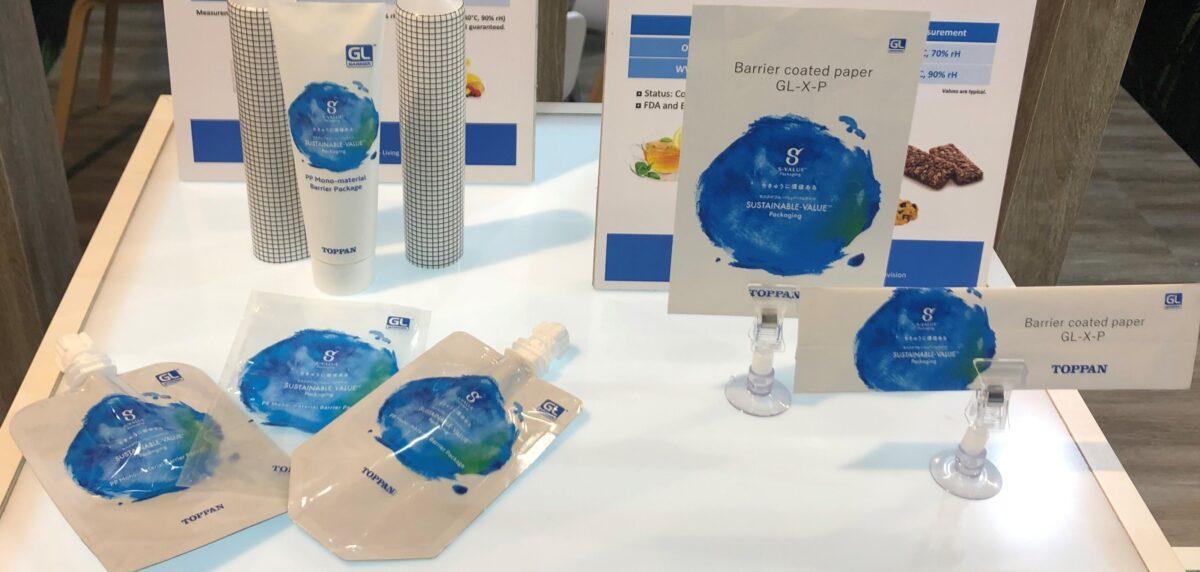 Toppan präsentiert neues barrierebeschichtetes Papier GL-X-P für Verpackungen an der Fachpack Packaging